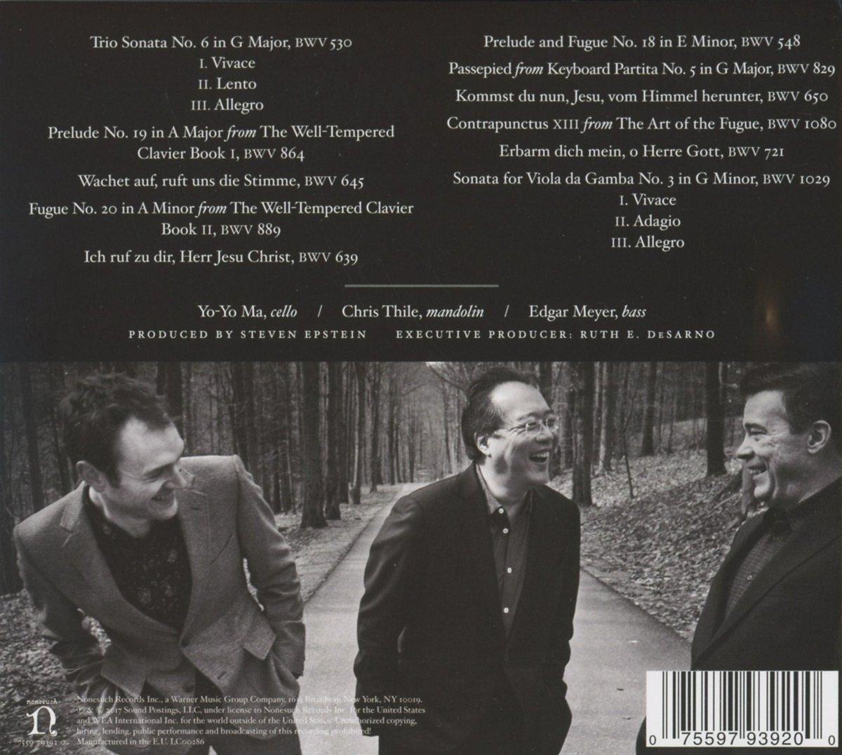 Yo-Yo Ma - Bach's Instrumental Works - Discography